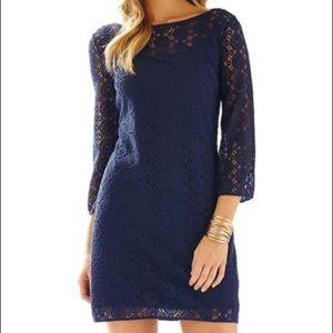 NWT Navy Lilly Pulitzer Topanga dress